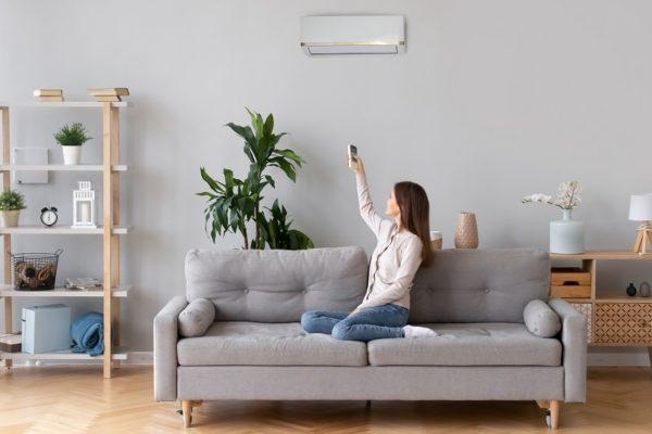 klimatyzator w mieszkaniu